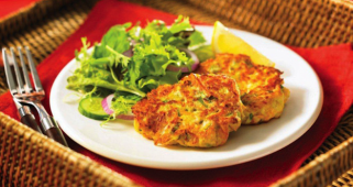 Tuna Vegetable Fritters