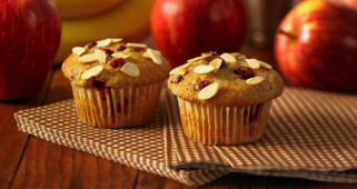 Whole Wheat Cottage Cheese Breakfast Muffins